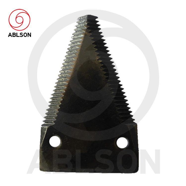 Seat cover rotary mower blades