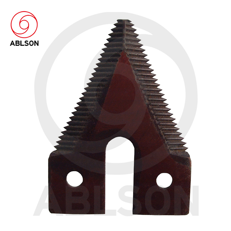 Mower segments for agricultural machinery