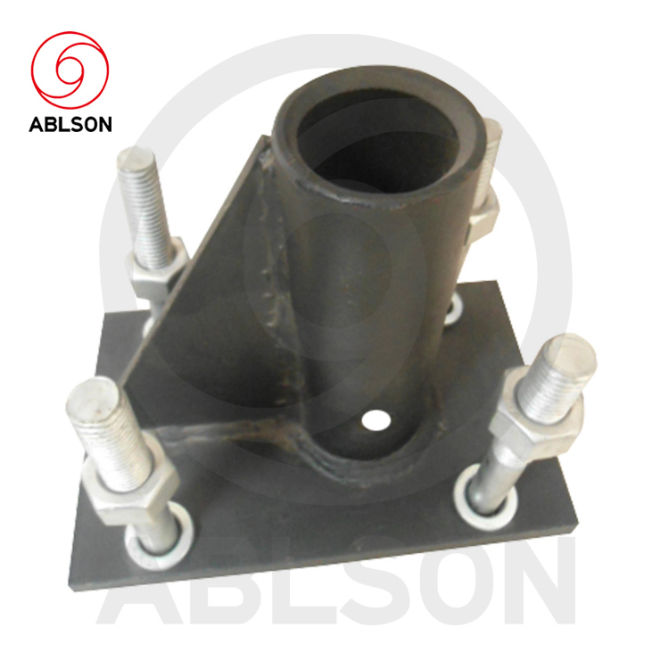 Steel machinery bushings bracket